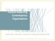 MacGyver Team Final Project- Factors Impacting Contemporary Organizations