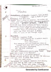 THEA 102 lecture notes