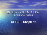 contract chapter 2