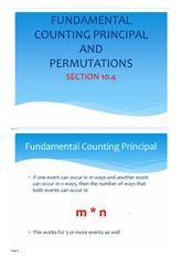 Completed notes-Fundamental counting principal