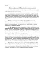 microsoft environment analysis essay Unit 2 assignment 2 microsoft environment analysis - download as word doc (doc / docx), pdf file (pdf), text file (txt) or read online.