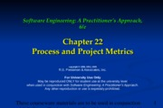 Ch22 Process and Project Metrics
