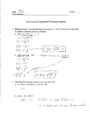 Math 106 In Class Assignment 3