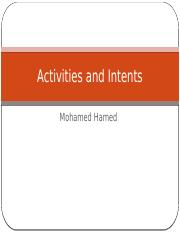 3 - Activities and Intents.pptx