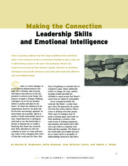 Self Development - Leadership Skills and Emotional Intelligence