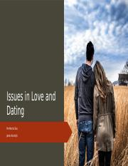 Issues in Love and Dating.pptx