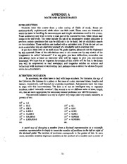 Appendix A from ast 1022 Lab Manual