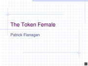 The Token Female