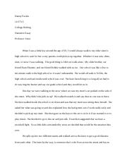 College Writing Essay #3