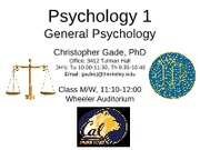 Psychology phd coursework
