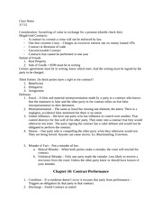 Class Notes 3-7