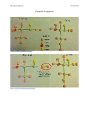 Dipeptide Assignment