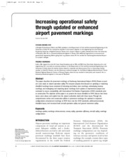 Increasing operational safety