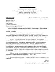 Grille D évaluation Lettre De Confirmation De Mandat Pdf