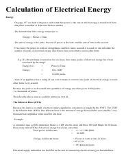 calculationofelectricalenergy
