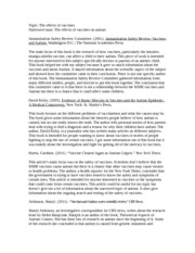 annotated bibliograph: identification/classification of autism essay Annotated bibliograph: identification/classification of autism essay sample howlin, p (2003) outcome in high-functioning adults with autism with and without early language delays: implications for the differentiation between autism and asperger syndrome or impairment.