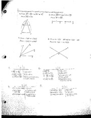 Proofs of Angles and Lines