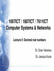 1007ICT_2018_1_Lecture_5_Decimal_Real_Numbers.pdf