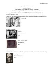 Photography Study Guide AHIS 2020 GTA Revision