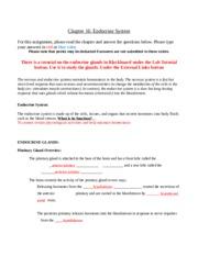 blood chapter checklist bio202