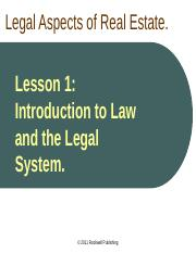 CA Law Lesson 1 PPT.pptx