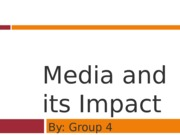 Jour. 101 Media and Impact