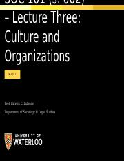 September 22 - Culture and Organization.pptx