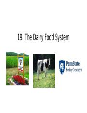 19. The Dairy Food System.pptx