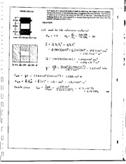 714_Mechanics Homework Mechanics of Materials Solution