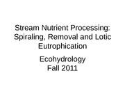 Ecohydrology_Lecture9_F11