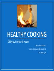 GEE5304 Nutrition and Health Topic 6 Healthy cooking and dietary management.pdf