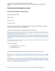 Professional Development Report Template.docx