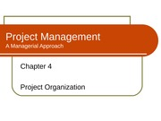 Chapter 4 - Project Organisation(self study)
