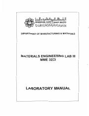 Lab Manual MME 3223_Materials Engineering Lab III_SEM 1_2016-2017