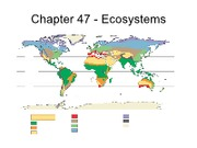 H - C47 - Energy Flow and Biogeochemical Cycles