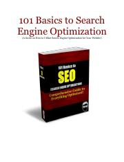 101 Basics to Search Engine Optimization.pdf
