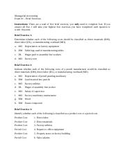 Exam 1 - Brief Exercises. RashmiShankar.docx