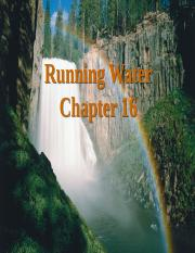 Chapter 16  Running Water