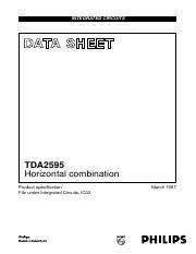 Datasheet) tda2595 pdf integrated circuits data sheet tda2595.