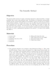 Lab 3: ScientificMethod