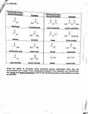 functional groups part 2