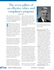 the-seven-pillars-of-an-effective-ethics-and-compliance-program