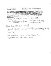 Written Homework 2 Solutions