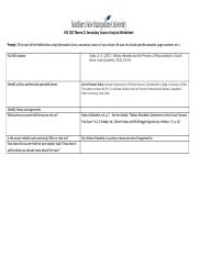 Secondary_source_analysis_worksheet-Yvette Perez docx - HIS 100
