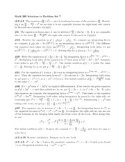 Math 293 solution set 7