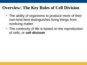 Lectures 22 & 23 Cell Cycle (1)