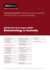 X0001 Biotechnology in Australia Industry Report