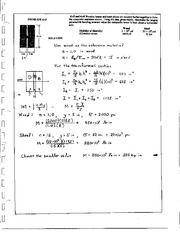 325_Mechanics Homework Mechanics of Materials Solution