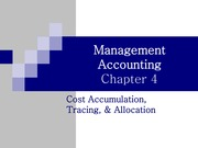 Test 1-Ch04-Cost Accumulation, Tracing, & Allocation