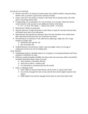 ECON 252 CH 9 NOTES